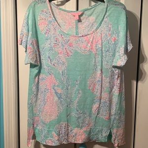 Lilly Pulitzer SS top